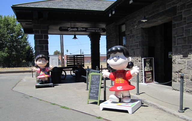 Two Lucys at the Depot