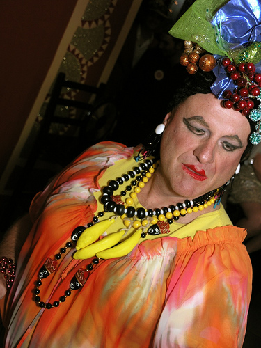 Carmen Miranda Lives! Photo by Clifford Hill