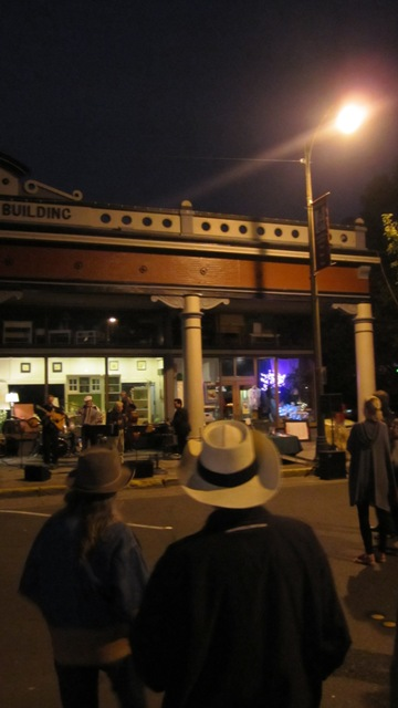 Summer Nights in Railroad Square