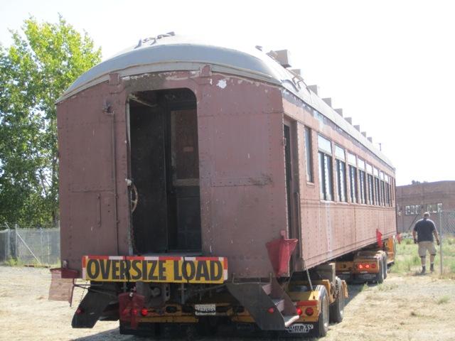 Bye bye rail car!
