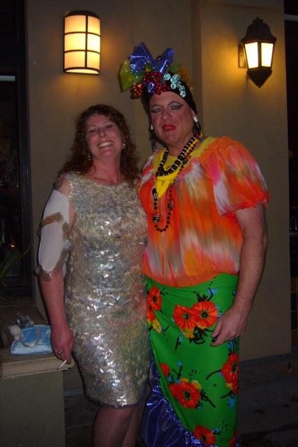Gong Show Judge Carol & Carmen Miranda