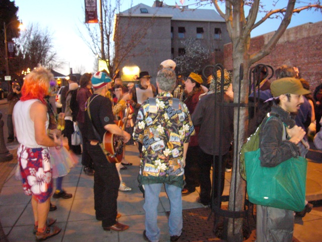 Mardi Gras in RR Square