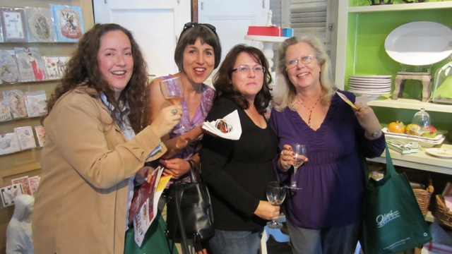 West End Ladies enjoy Taste of Railroad Square