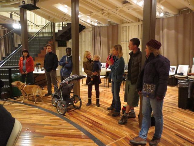 Standing room at Nov meeting