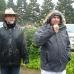 A soaked Kernan & Ty