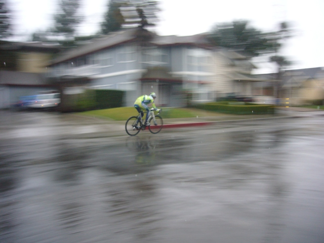 Bike goes by in a blur- Thomas collection