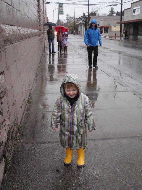 The Rain Baby- Lumberg Green collection
