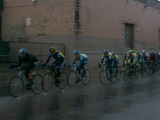 Racing thru West End on Wilson- Drexel collection