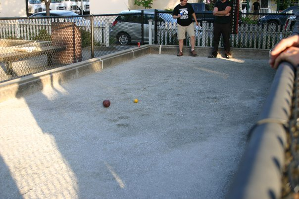 Bocce Scenes by Dominique Pacheco