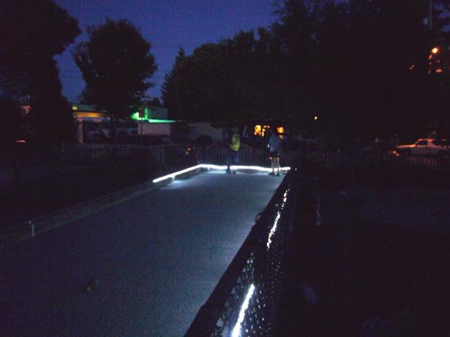Night Bocce