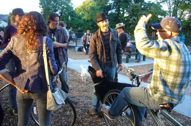 Bike inventors' corner