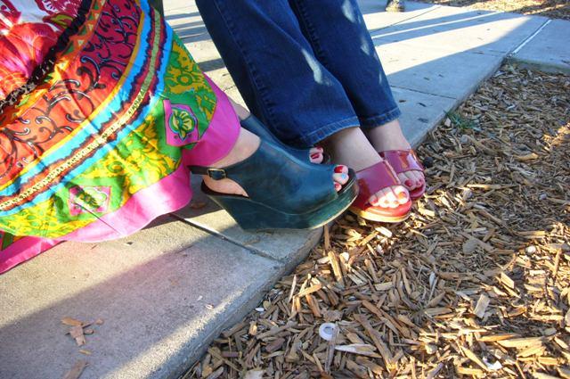 Stylish feet