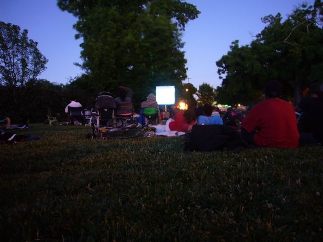 West End Movie night at DeMeo Park