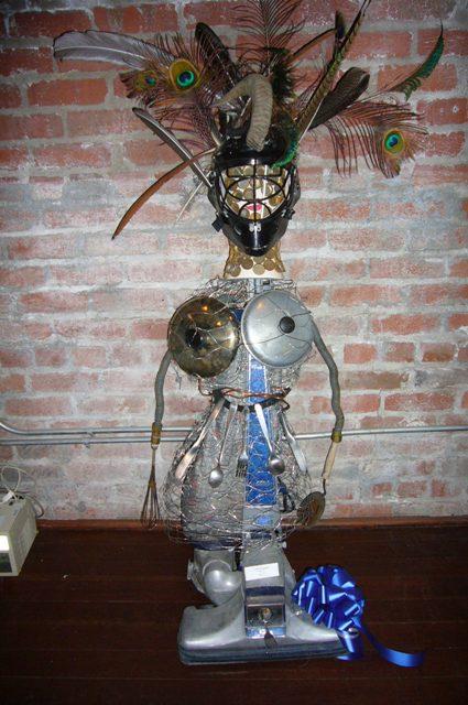 Lydia Fossgreen-Age 15, junk art
