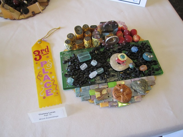 Wood Assemblage, Chelsey Lucas, age 12