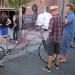 Hand built art bikes