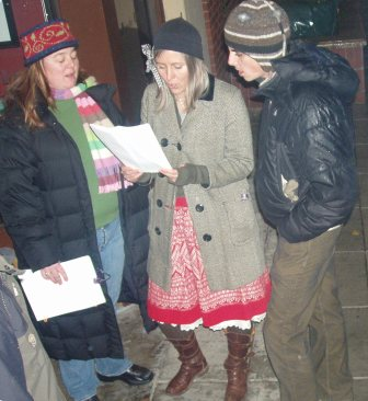 Caroling at The Toad