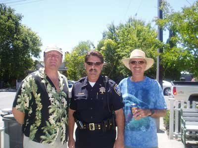 Allen, Officer Gary Negri and Dan