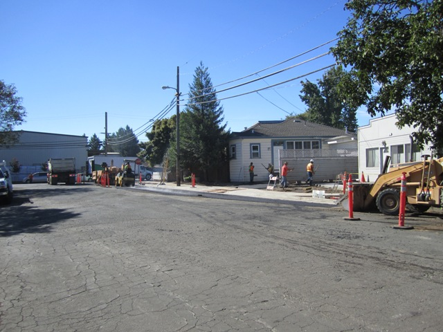 Donahue sidewalk improvements
