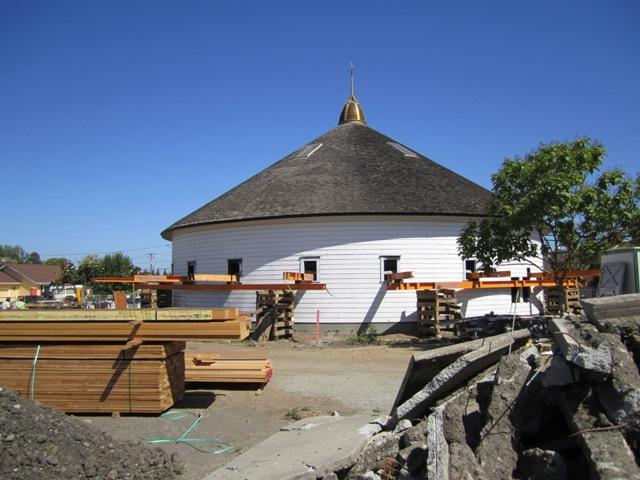 The barn returns to earth 7-19-10