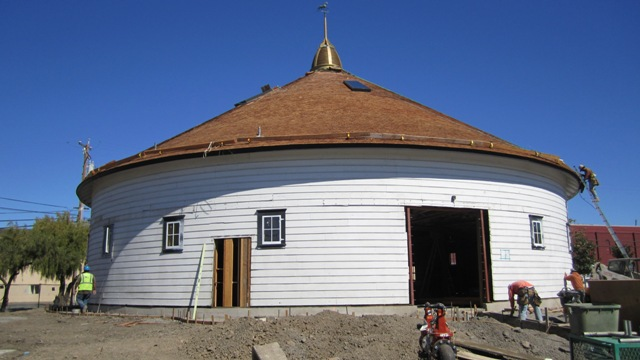 Roof is almost finished   9-15