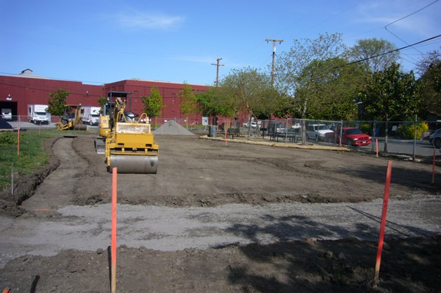 New dog park site 4-16-10