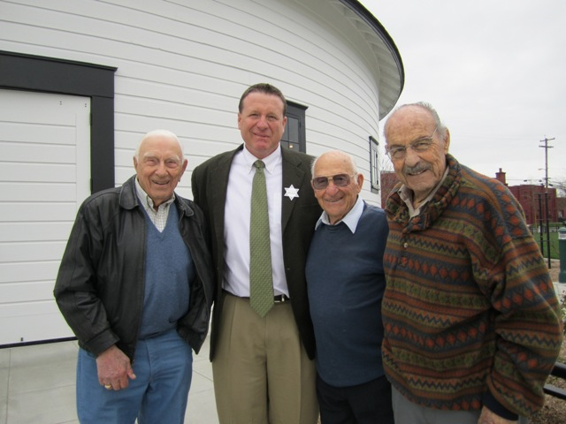 Allen with members of the West Side Gang