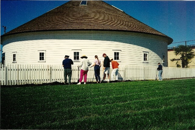 A Planting party in 2000