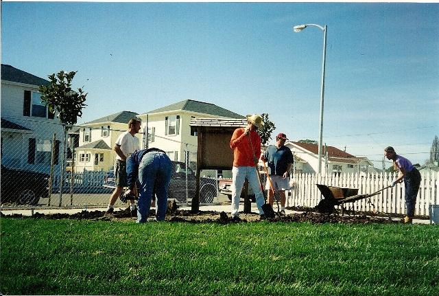 Neighbors working together
