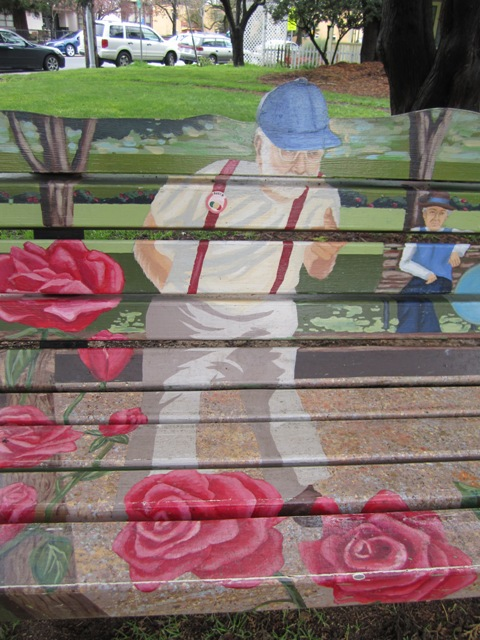 Bench in honor of Monty Montegue