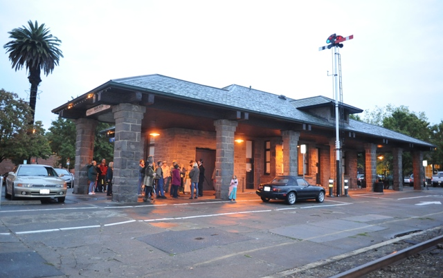 The tour starts in Historic Railroad Square By B. Rosales
