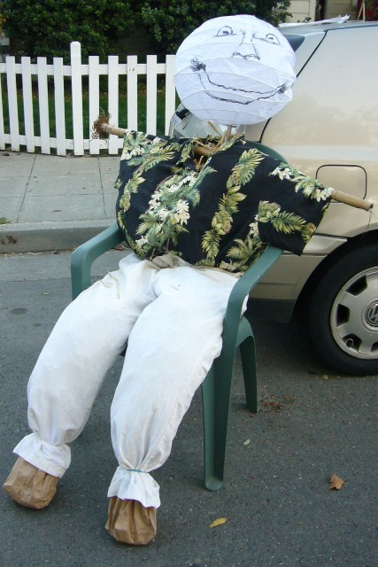 A Hawaiian Scarecrow