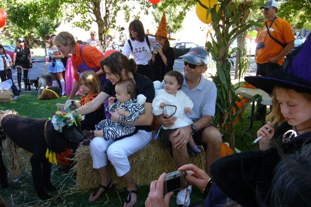 Railroad SCARE- Michelle, Mitch and their twins visit