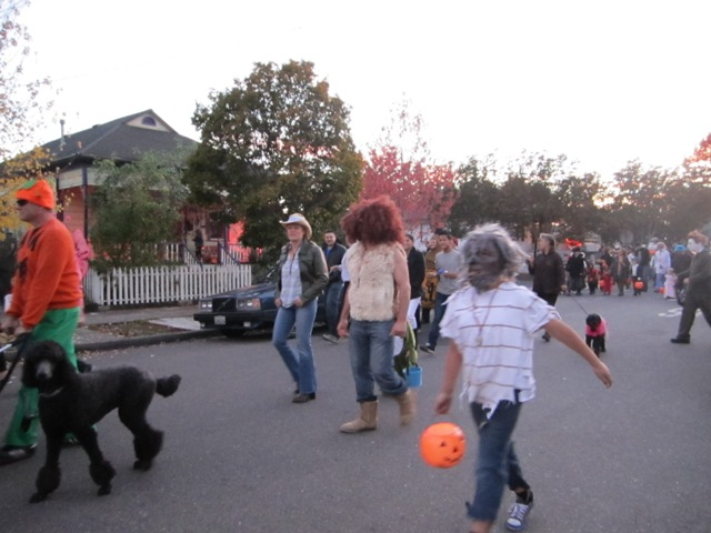The West End Kids Halloween Day Parade
