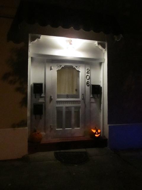 A classic doorway