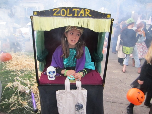 A fabulous fortune teller.
