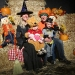 A West End family enjoys the Chops Halloween Carnival