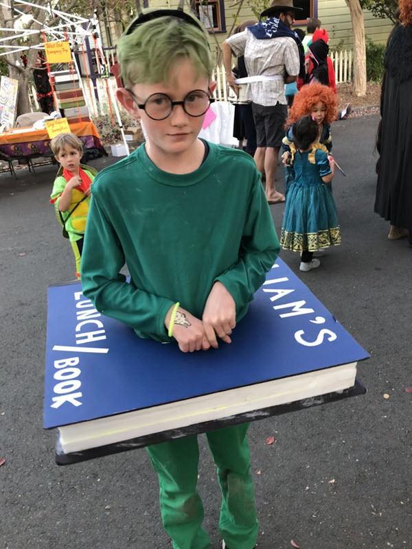Halloween 2019 - A book worm!
