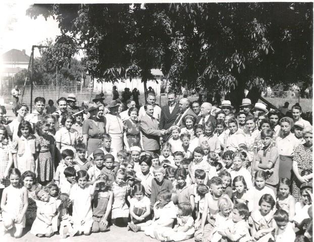 DeMeo Park Grand Opening 1930s