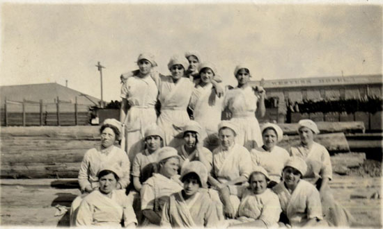 CA Packing Workers- Hall Collection
