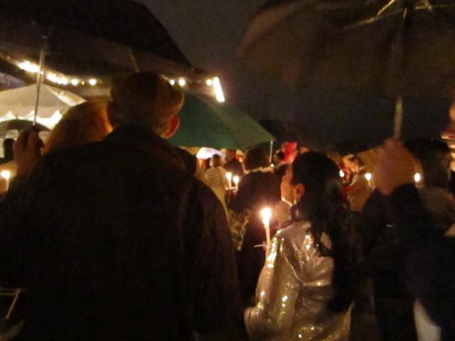 Hospice tree lighting ceremony