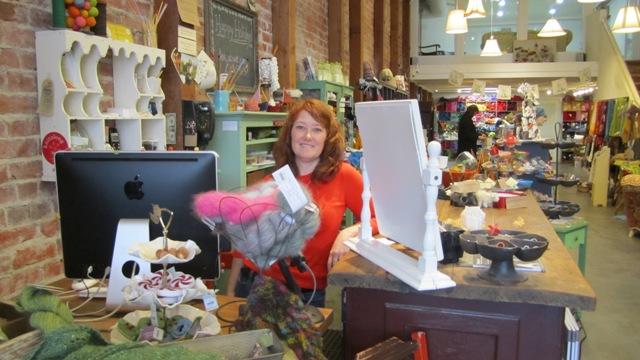 Cast Away Yarn Shopowner, Justine Malone