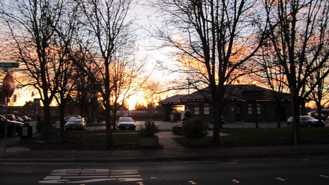 Twilight at Depot Park