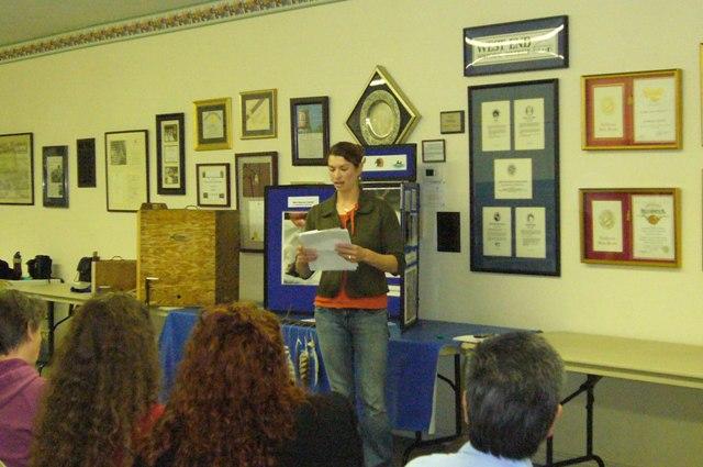 Carissa Green gives an update on Wilson Street