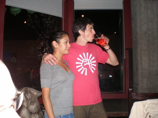 Kelly & Melissa  St Pat\'s