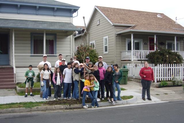 City of Santa Spring Planting Project