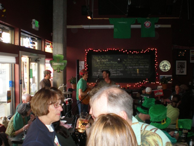 St Pat's at Toad in the Hole