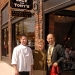 Vice Mayor Marsha with Jack (Owner & Chef) and Roberto (Manager) of Jack & Tony\'s