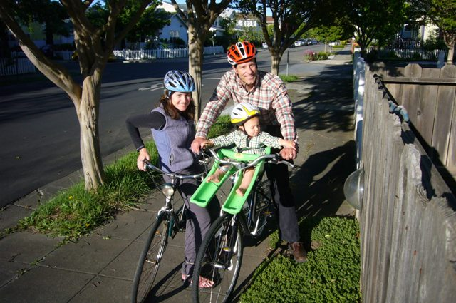 A bike ride- Family style