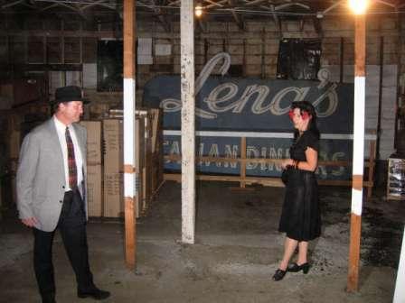 Allen talks to legendary Lena Bonfigli